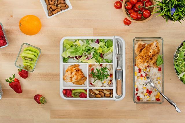 【智能界大百科】高颜值Fittbo餐盒 让午餐营养更均衡