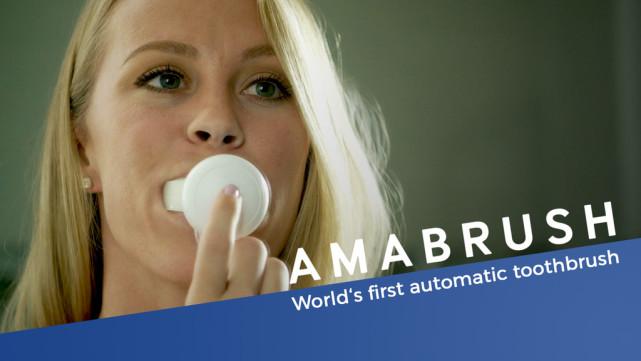 Amabrush电动牙刷 刷牙只要十秒钟?!
