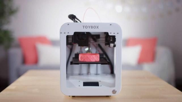 专为孩子设计的3D打印机 想玩什么打什么