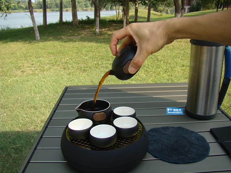 艺术范十足的时尚功夫茶具——小巨蛋T8艺品级茶具测评