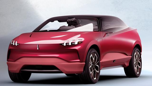 长城WEY XEV发布首款电动SUV车型使用新LOGO