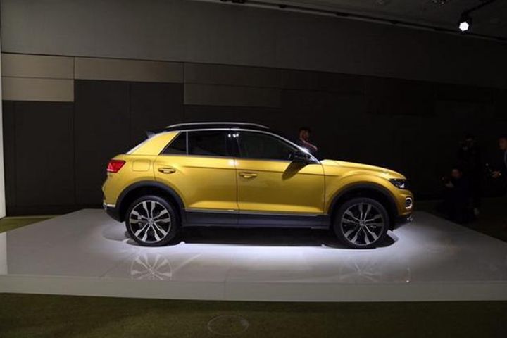 大众小型SUV T-Roc正式亮相