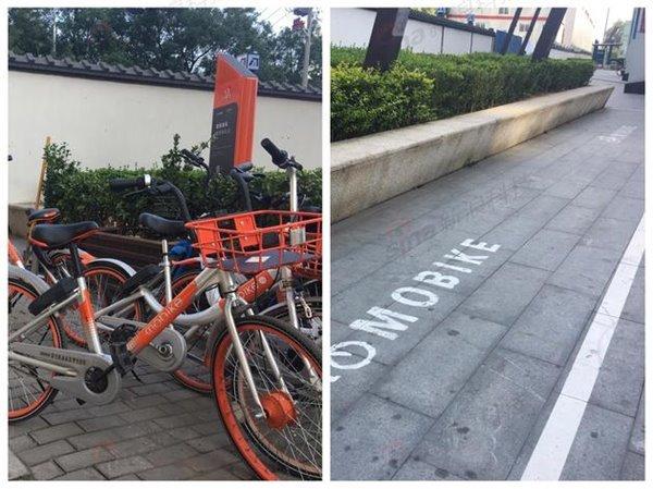 靠电子围栏圈共享单车?多为摆设效果堪忧