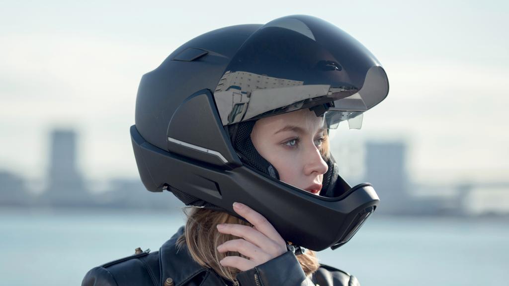 战斗机外形头盔CrossHelmet骑行360全视野