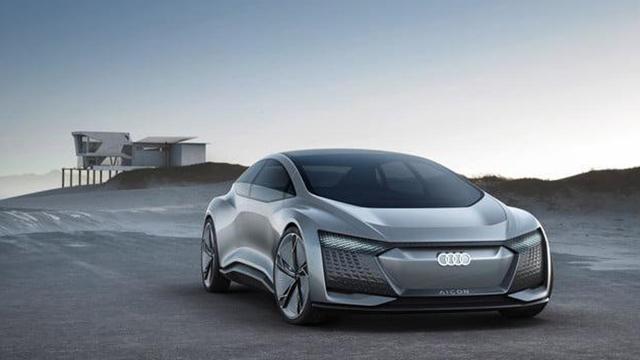 奥迪Aicon无人驾驶概念车发布,未来不需要老司机了