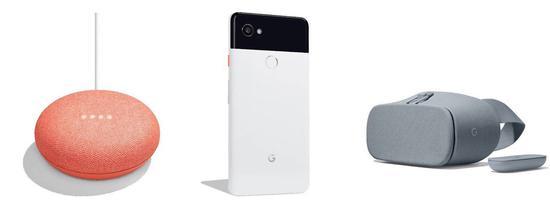 谷歌发布会产品曝光:迷你智能音箱和Pixel 2手机