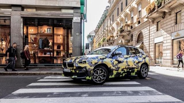 宝马X2将于2018年北美车展上正式首发