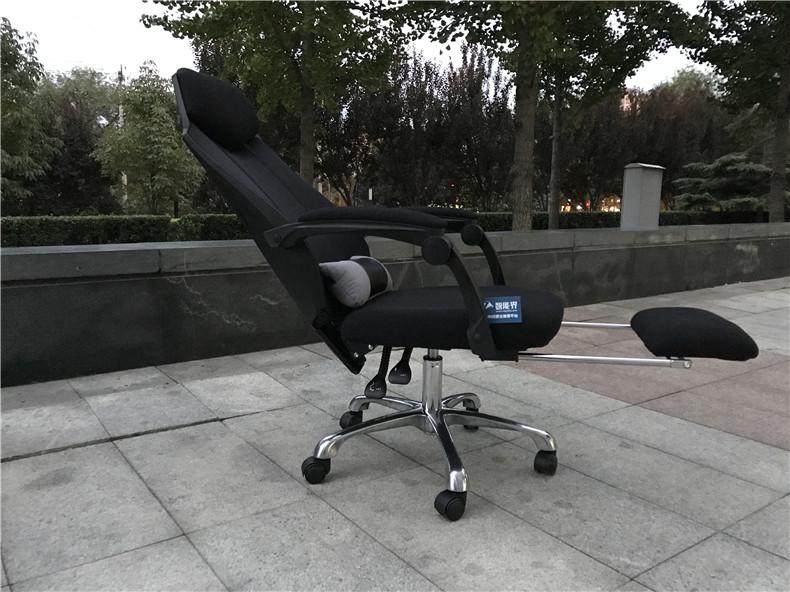 可以睡觉的人体工学电脑椅,黑白调电脑椅!