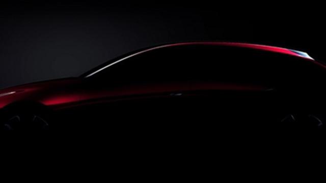 马自达发布两款概念车预告图,东京车展上将正式亮相