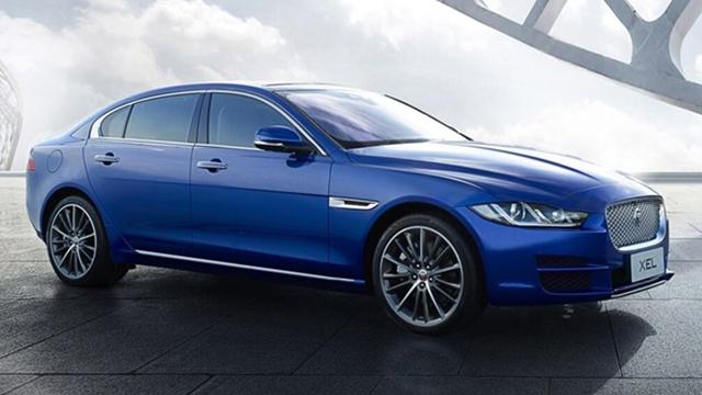 奇瑞捷豹发布XEL车型官图,外观设计沿用XE的设计