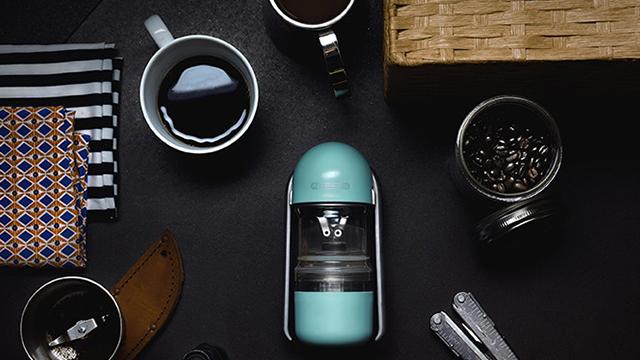 杠杆原理浓缩咖啡机,喝咖啡更方便