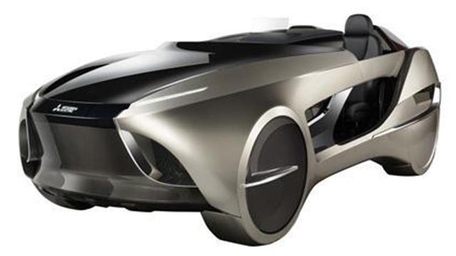 三菱推出全新概念车Emirai 4,造型科幻前卫
