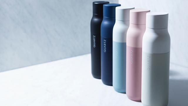 QUARTZ科技水瓶,让入口的水变得更干净
