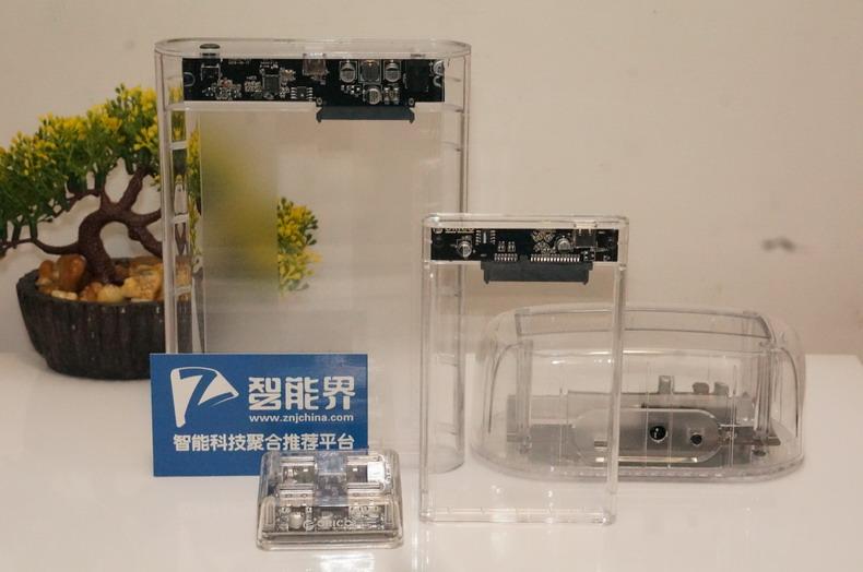 领略科技性感,ORICO透视移动硬盘盒套装
