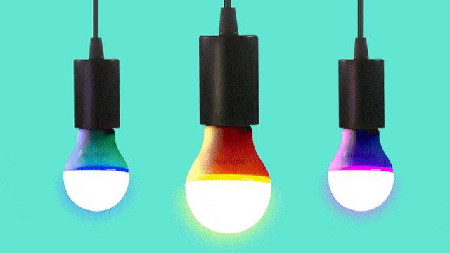 "Heelight能""听懂""环境音的智能灯泡"