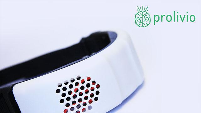 Prolivio热电冷却技术头带,帮助缓解头痛