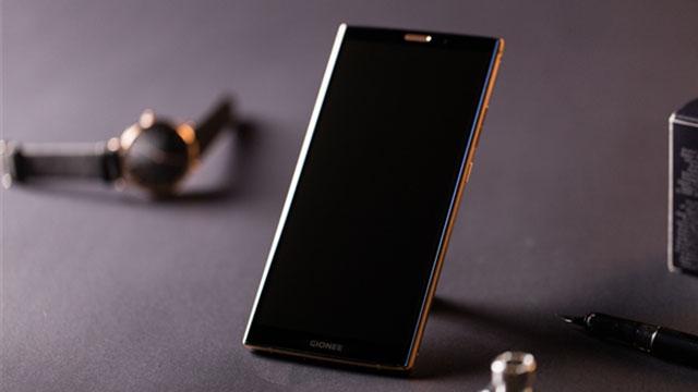 金立M7 Plus21K黄金镀层+安全加密芯片
