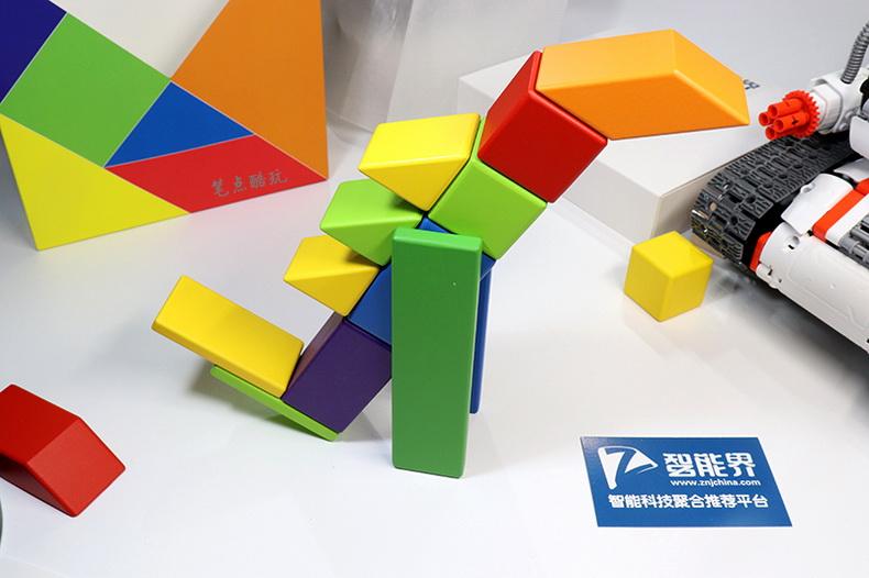 磁力启蒙,安全环保,米兔儿童磁力积木上手体验