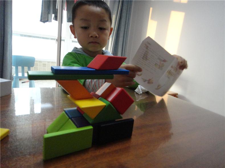 成长伴随---米兔儿童磁力积木