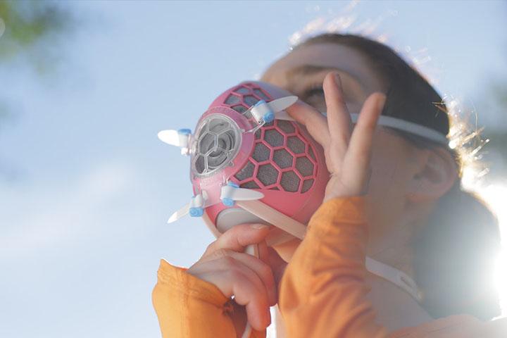 这个口罩靠谱吗?HEXA智能口罩