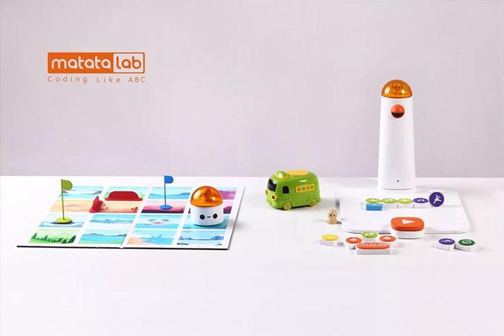 MatataLab机器人玩具让编程变得简单