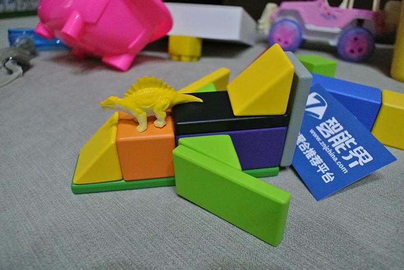 益智、安全、有趣,宝宝最好的礼物——米兔儿童磁力积木体验