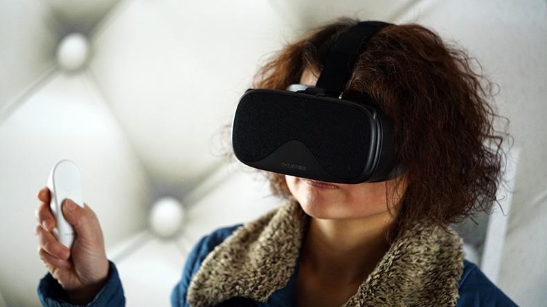 全面兼容Daydream体感游戏高清视频——暴风魔镜白日梦体感套装体验