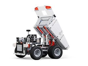 米兔积木矿山卡车