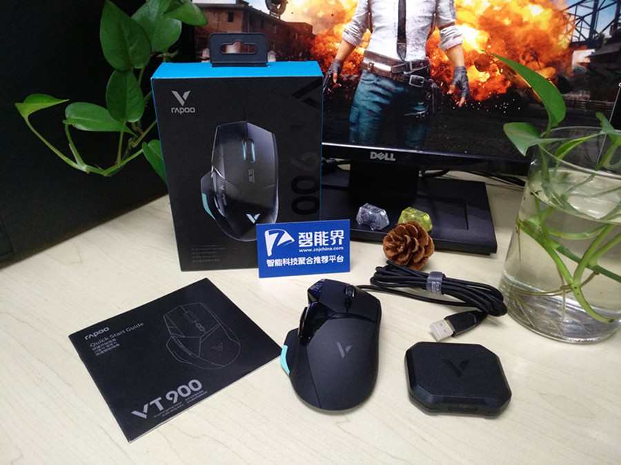 """""""玩""""就玩到极致——雷柏VT900游戏鼠标带给您不一样的体验"""