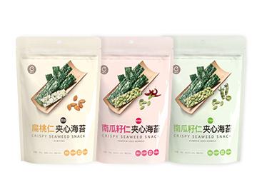 【粉丝福利】喵趣科技 夹心海苔脆组合三袋装