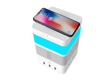 【免费试用】阿凡达智控创意自由魔方 无线充模块+LED感应灯模块x2+蓝牙音箱模块+USB排插模块