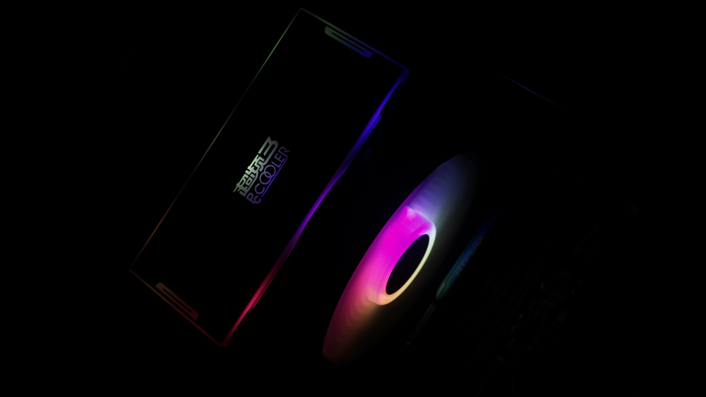 这可能是散热器被黑得最漂亮的一次--超频三·东海印象