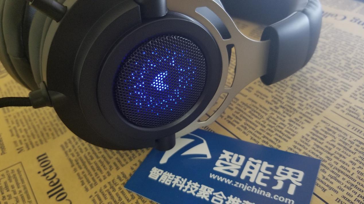 环绕立体,听无不及——雷柏VH300虚拟7.1声道背光游戏耳机