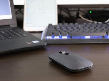 雷柏M550多模式无线鼠标,多个屏幕由你来秀