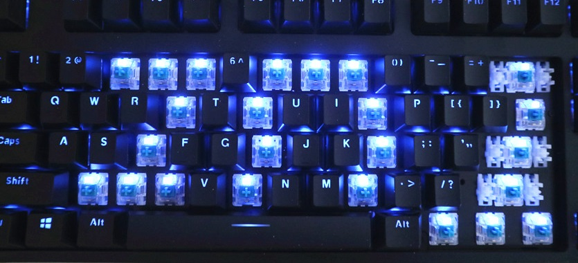 雷柏V708机械键盘体验:噼里啪啦!打字更有节奏感