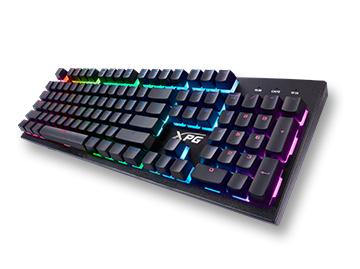 【免费试用】威刚(ADATA) XPG INFAREX K10 RGB 电竞游戏键盘