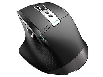 【免费试用】雷柏MT750PRO多模式无线充电激光鼠标(附赠XC100无线充电器)