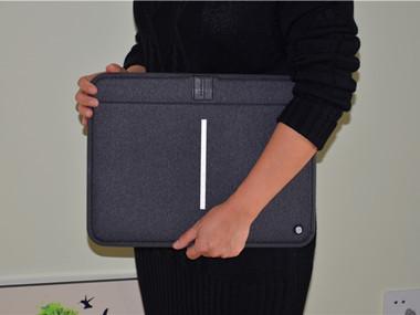 耐磨抗摔防水溅——耐尔金13.3寸苹果笔记本包