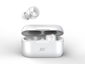 【免费试用】JEET Air Plus真无线蓝牙耳机(白色)
