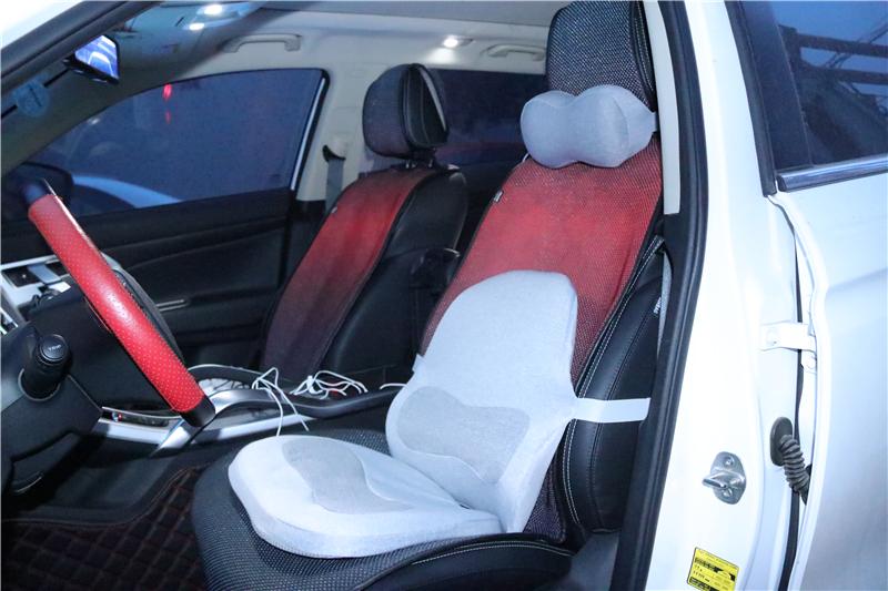 能让你的座椅瞬间加热!Aika石墨烯车载三件套体验