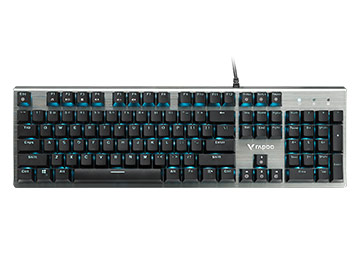【免费试用】雷柏V530防水背光游戏机械键盘