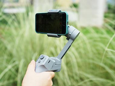 防抖加持,易拍易剪:魔爪智能手机稳定器mini MX体验