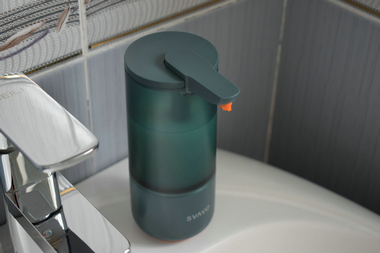 可自由换液、全身水洗,瑞沃SVAVO智能感应分配器体验