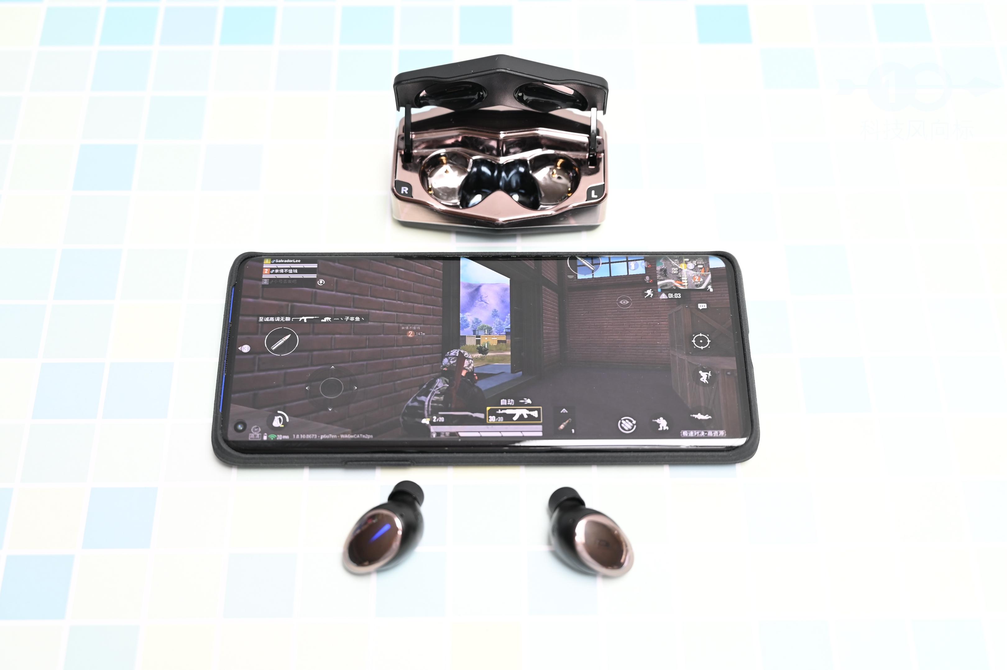 自带战斗光环的TWS耳机,轻巧吃鸡,iWALK战神游戏耳机体验