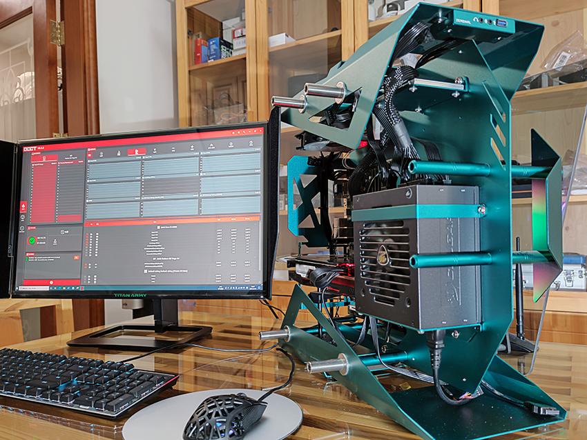 骨伽GEX850金牌全模组电源,满足最3080显卡供电+双CPU供电的升级需求