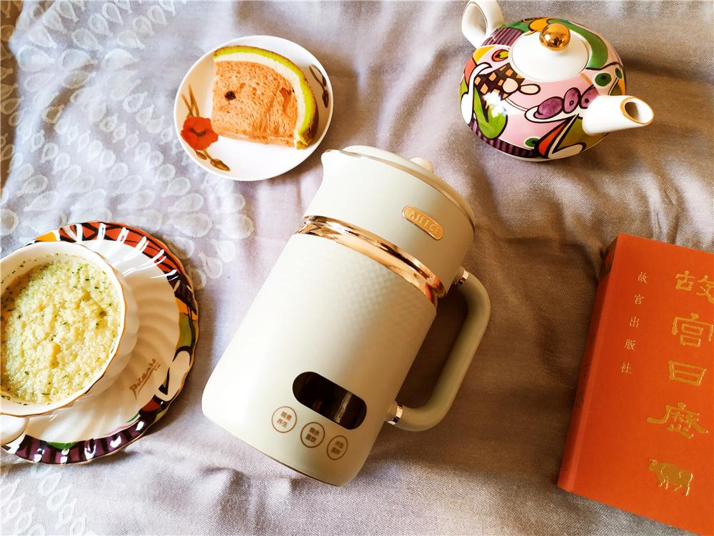 一茶一汤,精致生活里的艾晞mini养生搅拌杯K1