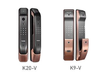 【免费试用】凯迪仕远程可视猫眼智能锁K20-V+K9-V