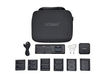 【免费试用】XTAR SN4 数码单反相机充电器
